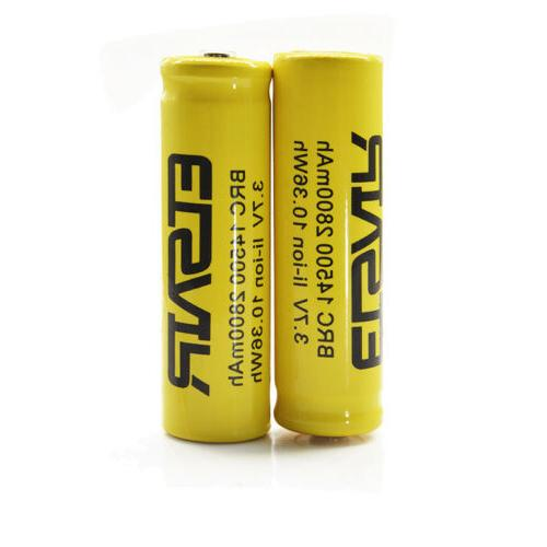 2800mAh Battery 3.7v Rechargeable Battery multi-function charger