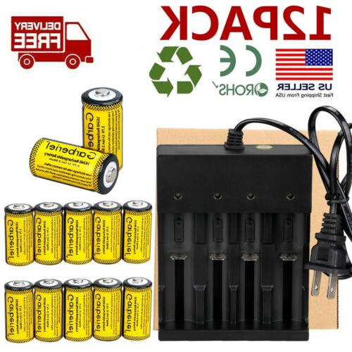2800mAh Batteries Rechargeable Li-ion Battery Charger