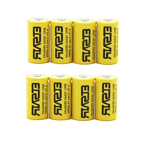 2800mAh CR123A Rechargeable battery