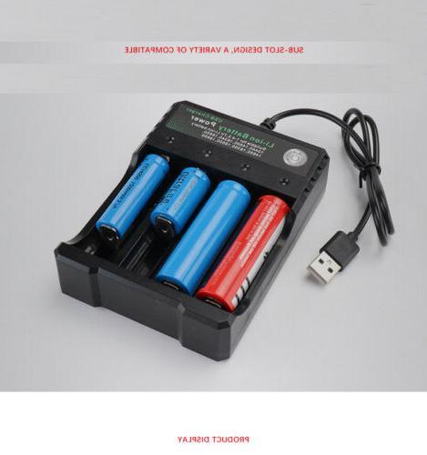 USA 9900mAh Battery 3.7V Li-ion Batteries Intelligent
