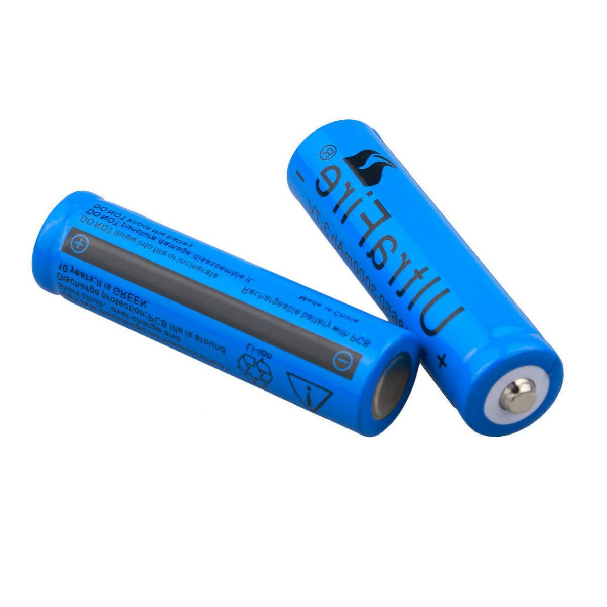 2pc Battery 3.7v Li-ion Batteries + Charger