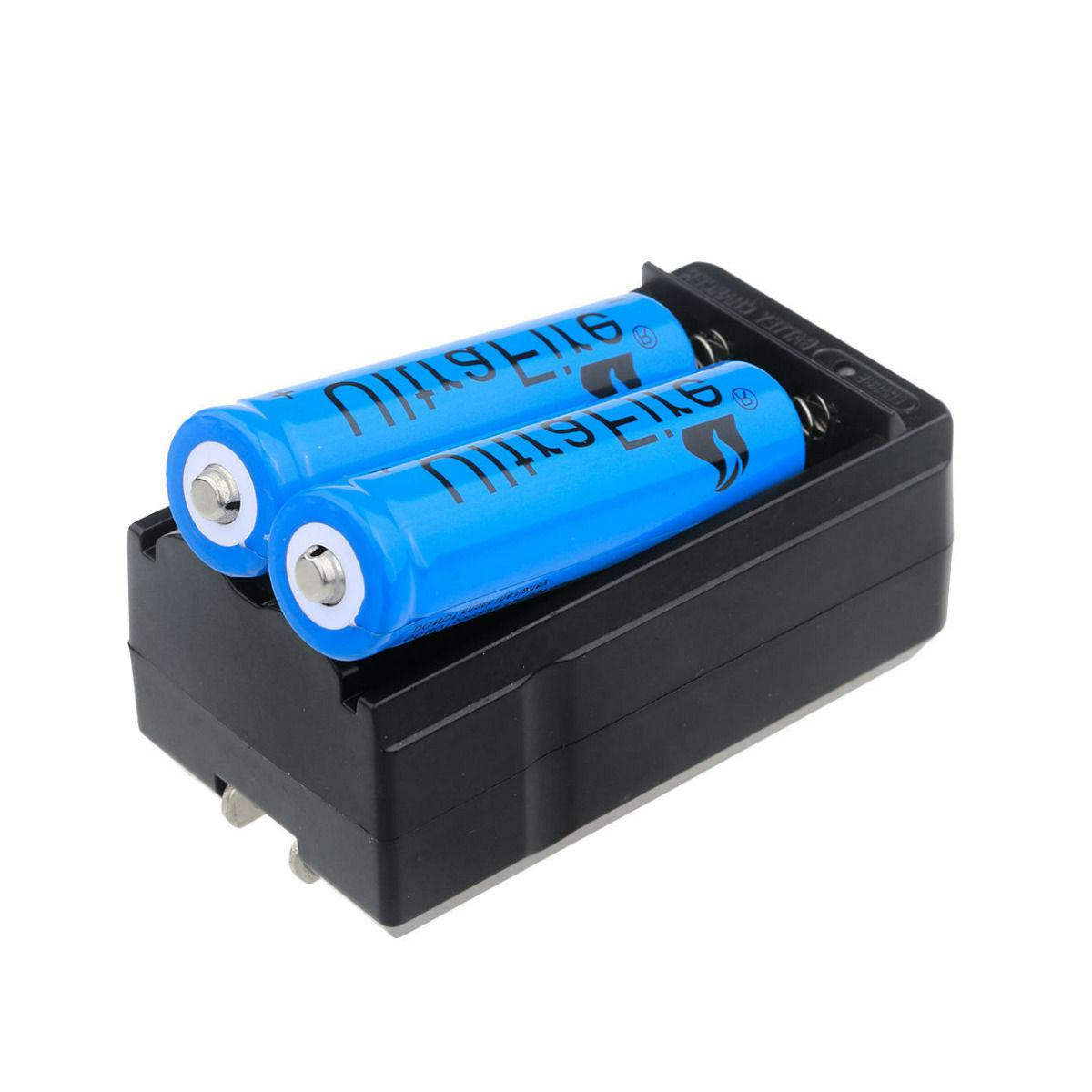 2pc 3000mah 18650 battery 3 7v li