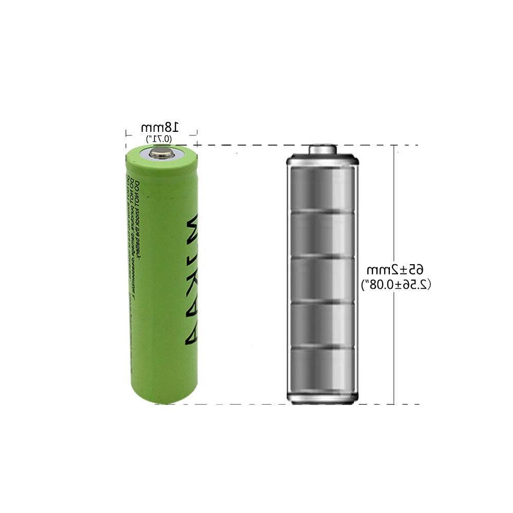 2Pcs 18650 <font><b>Rechargeable</b></font> Flashlight 301/303 Laser Pen