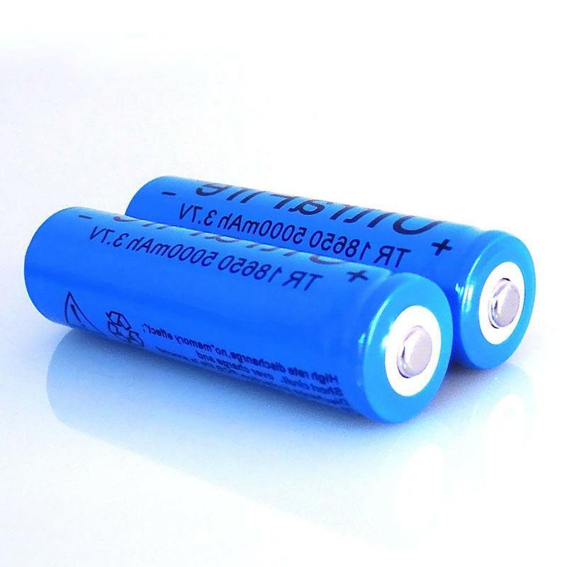 4pcs 18650 Li-ion Rechargeable 5000mah USA Stock