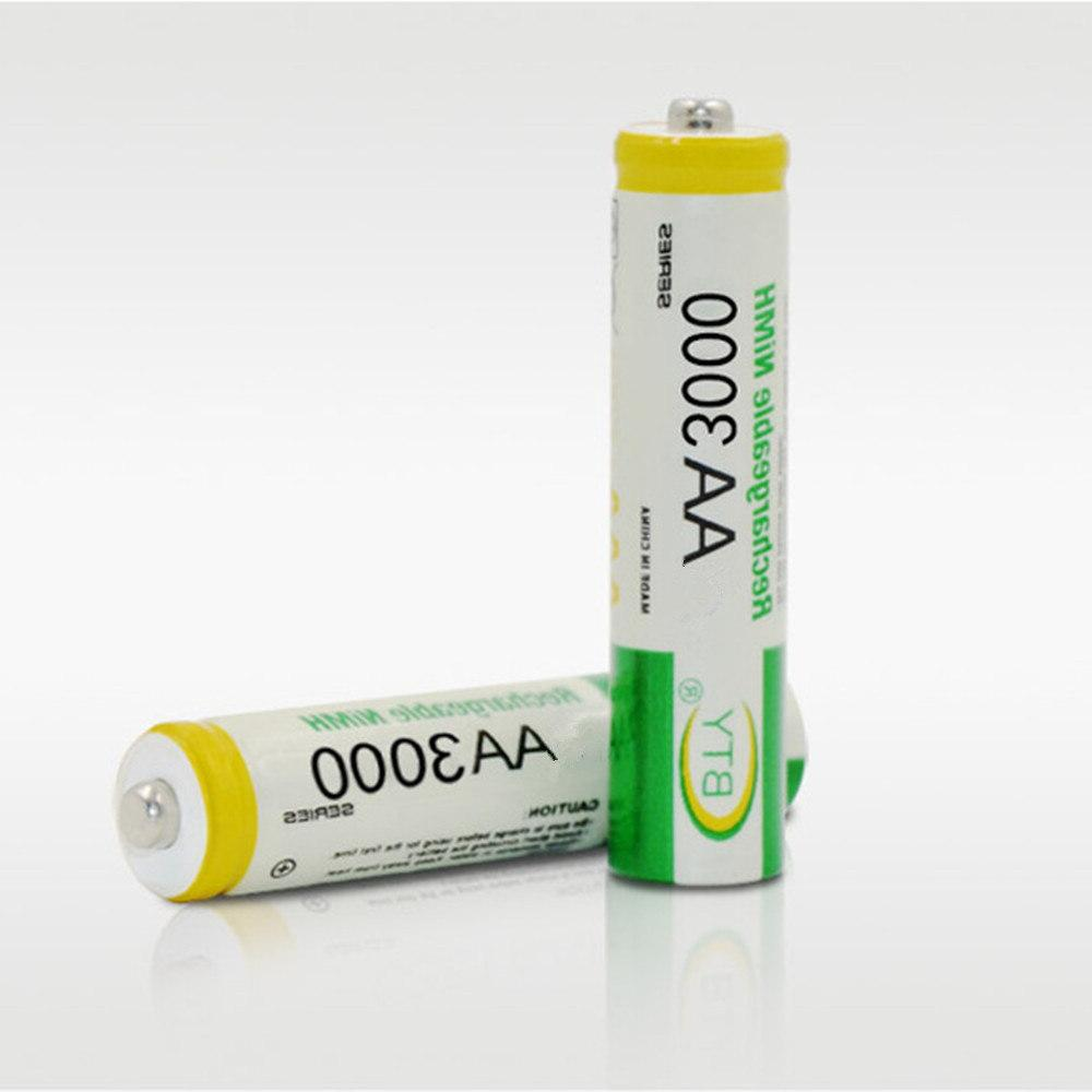 2pcs/lot <font><b>battery</b></font> high density <font><b>rechargeable</b></font> nickel metal
