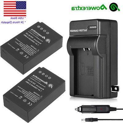 2x en el20 1200mah rechargeable battery charger