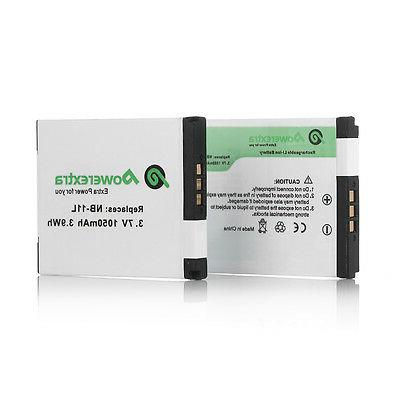 2X Battery for Canon 110 IS