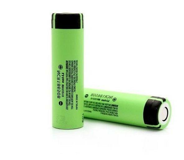 2x ncr18650b genuine 4 8a 18650 battery