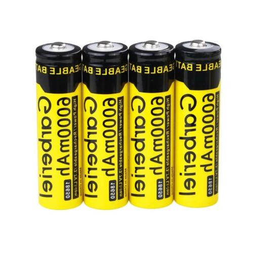 Garberiel 3.7V Battery Li-ion + Dual