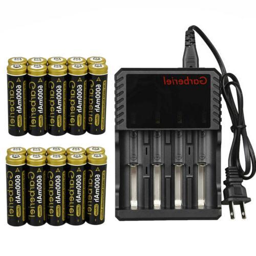 3 7v 18650 battery li ion 6000mah