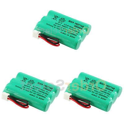 3 cordless home phone battery