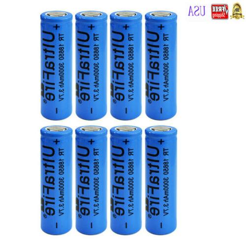 3000mAh Flat Rechargeable Battery Li-ion Batteries