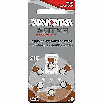 312 hearing aid batteries