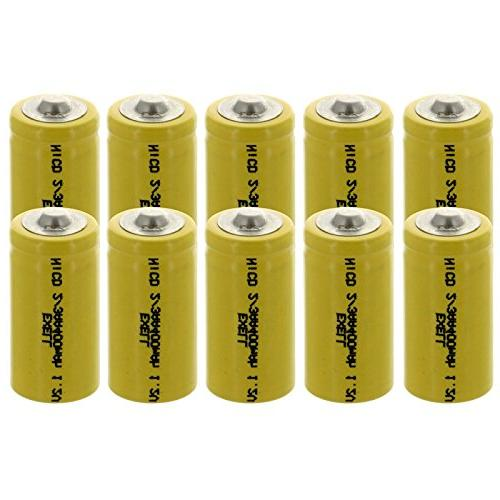 3aa nicd button rechargeable batteries