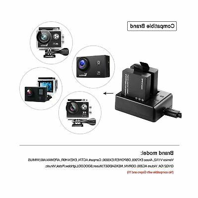 Vemico Sports Action Dual Charger Kit