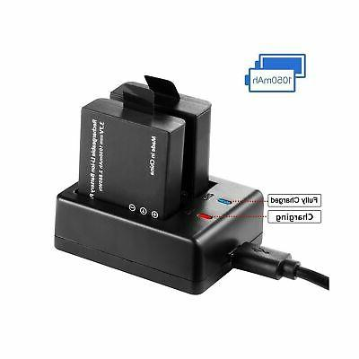 Vemico Action Cameras Charger Kit