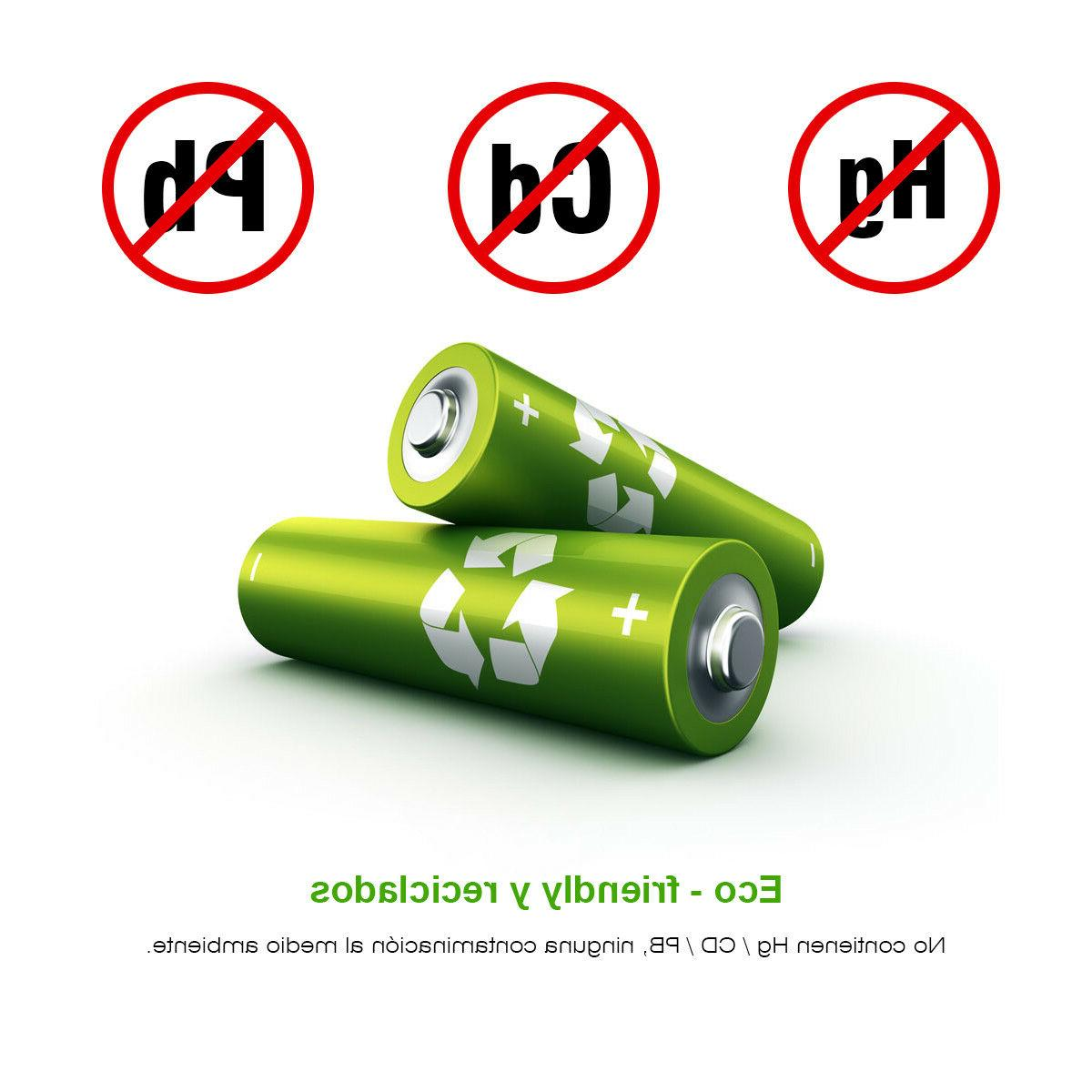 EBL Lot 2800mAh 800mAh NI-MH Rechargeable +