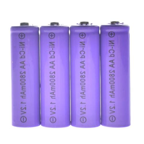 Lot Rechargeable Batteries CA