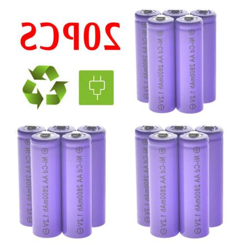 Lot AA Rechargeable