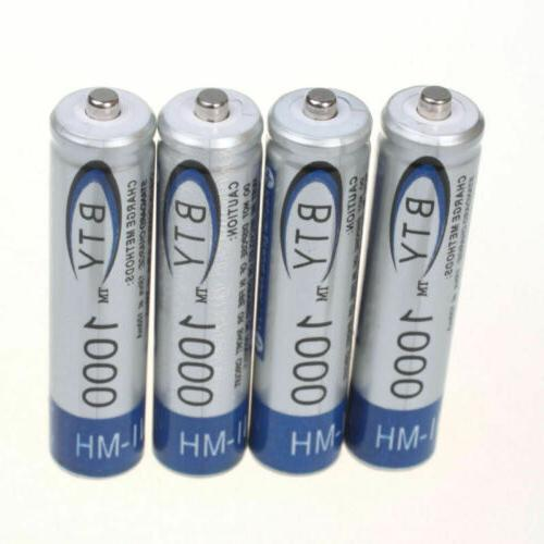 4-20pc BTY AA/AAA Rechargeable Battery 1.2V 3000mAh Ni-MH
