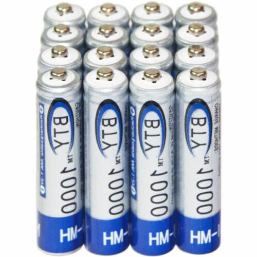 4-20X AAA Battery 1000mAh Ni-MH US