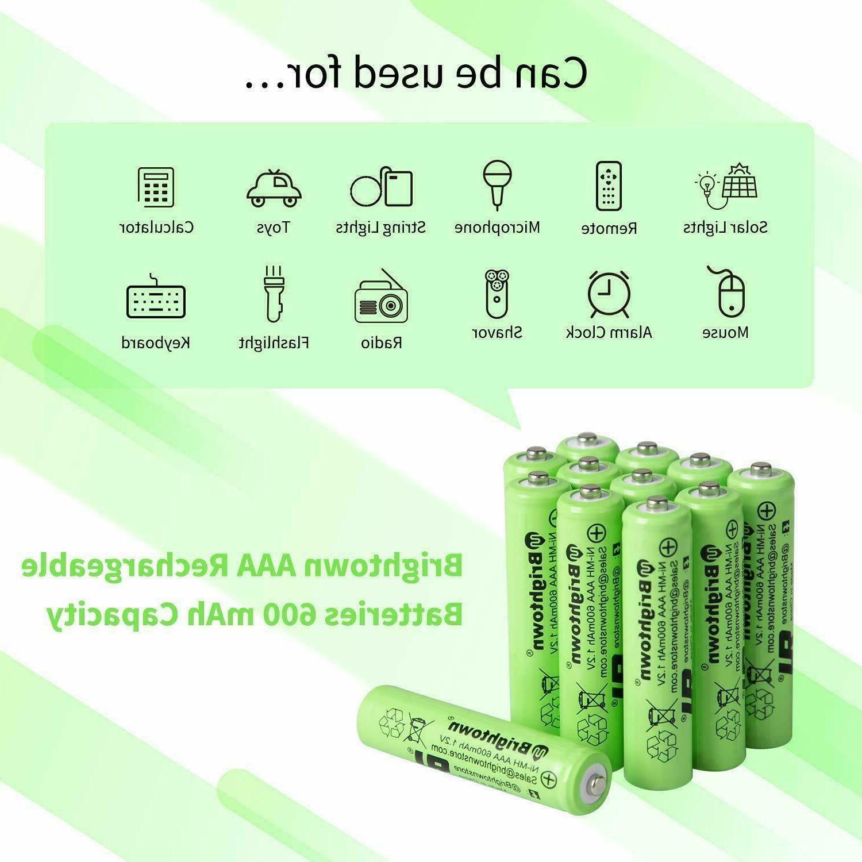4-16 AA Rechargeable Batteries Ni-Mh 800mAh Charger AA Ni-Mh
