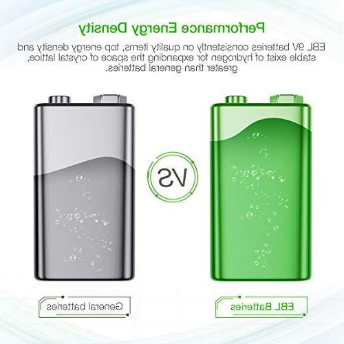 EBL Batteries Smart 9V Charger