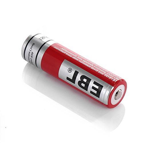 EBL 4 Packs Batteries with Lithium Rechargeable