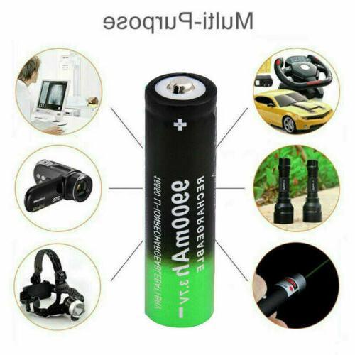 4 PCS Li-ion Battery Flashlight