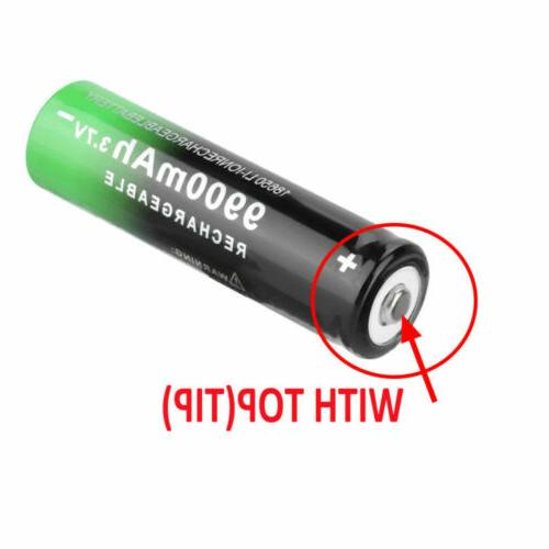 4 PCS Li-ion For Flashlight Headlamp