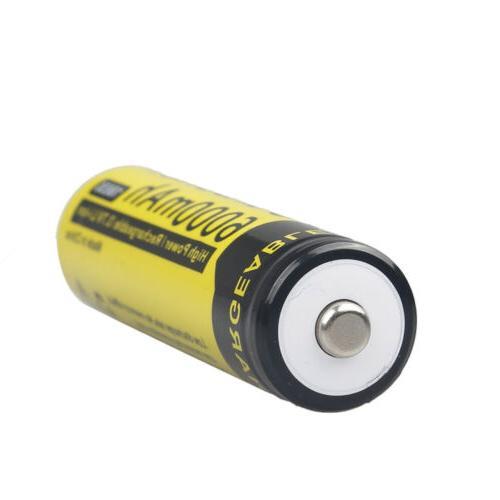 UltraFire BRC Battery Li-ion Rechargeable Batteries LED