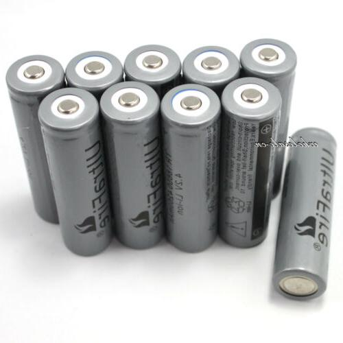 4200mAh 4.2V 18650 Li-ion Lithium Rechargeable Battery For E
