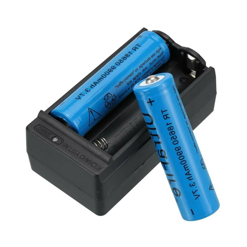 4X 18650 Lithium Rechargeable Battery
