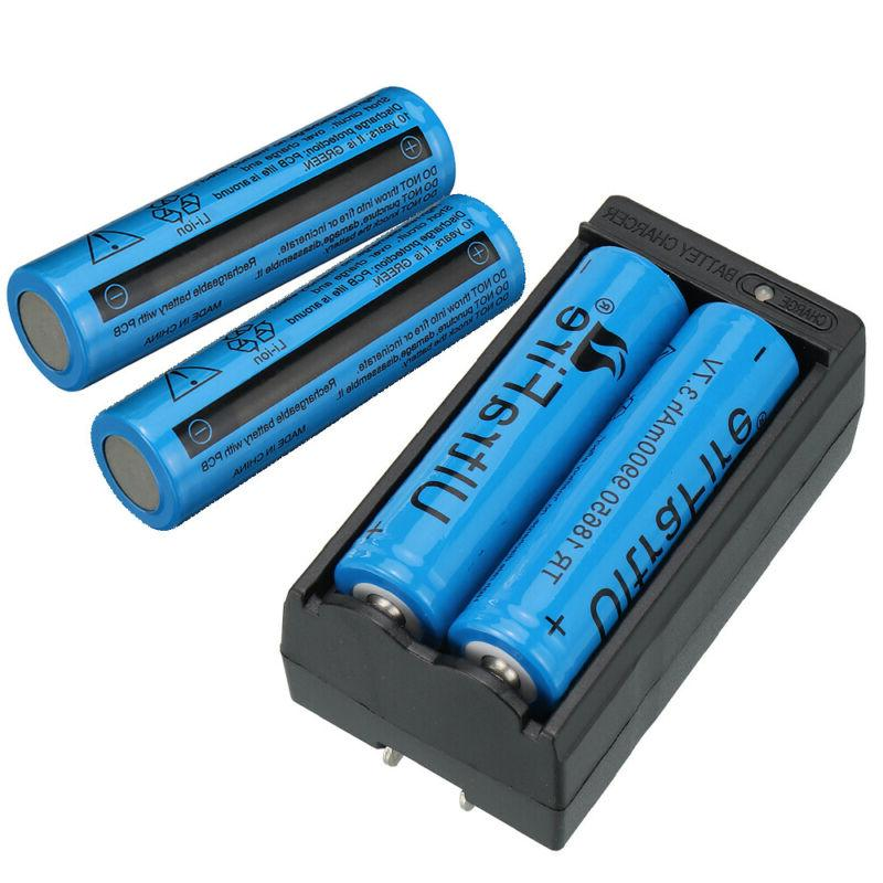 4PC UltraFire Battery 3.7v Li-ion Batteries