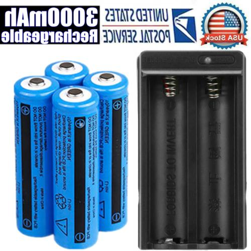 Lot Rechargeable 11.1W 3.7V BRC Li-ion Battery&Charger