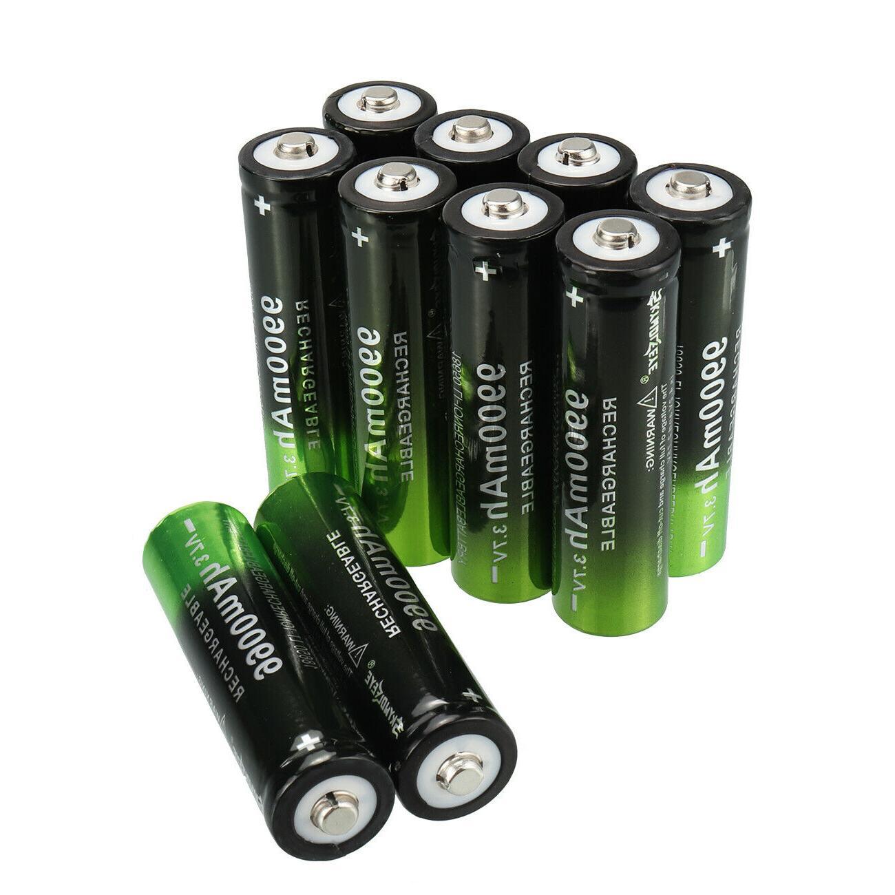 10X Rechargeable Li-Ion LED