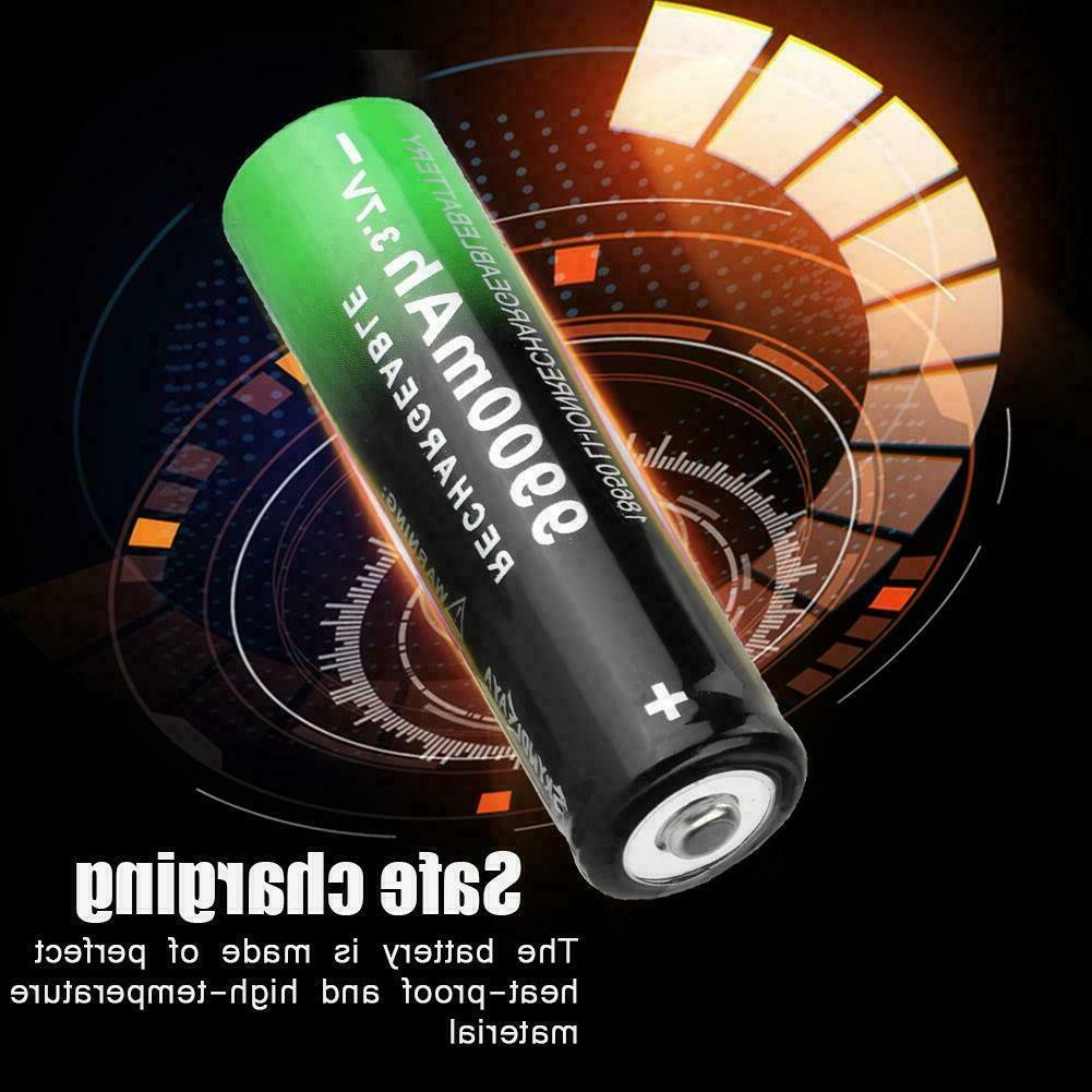 10X 3.7V Li-Ion Cell LED Flashlight