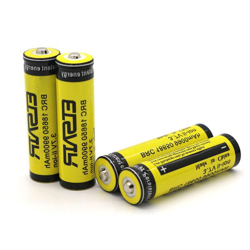 4pcs Rechargeable Li-ion Bat