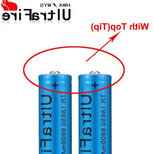 4X 18650 Lithium + 2X