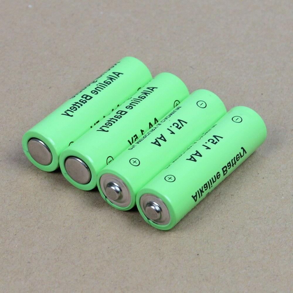 1.5V AA Alkaline Rechargeable Batteries w/h charger for toy