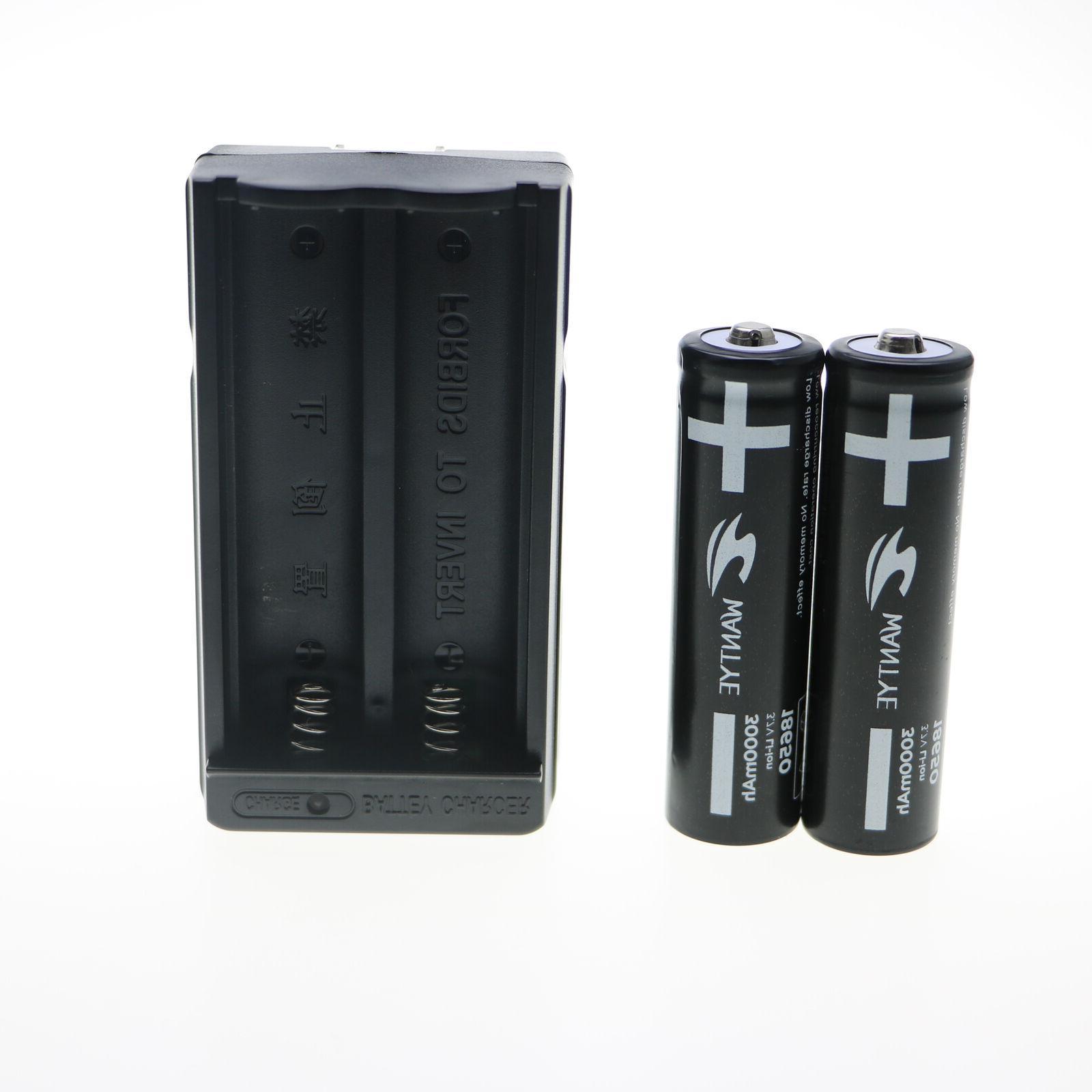 4Pcs 5800mAh Battery Rechargeable Batteries