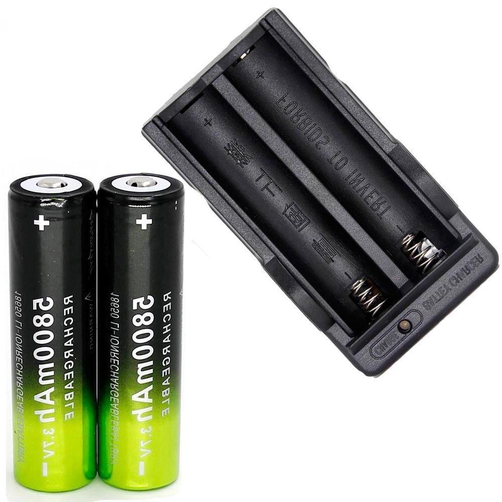 4X Battery 3.7V + Smart