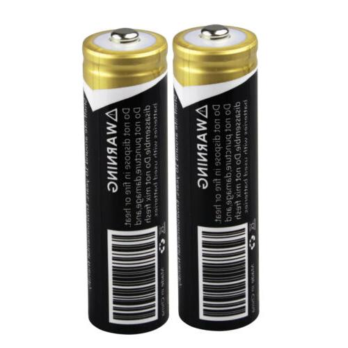 Lot Li-ion 3.7V Rechargeable Battery+Smart USA