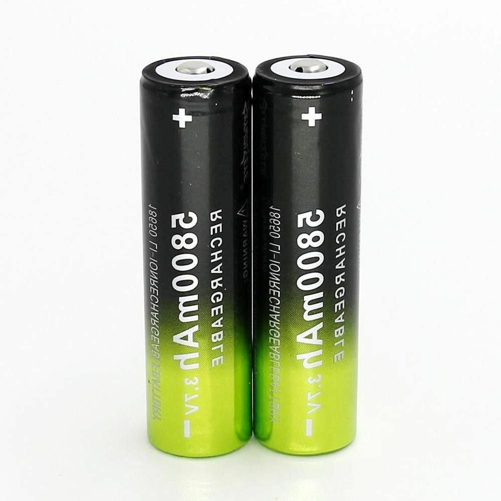 5800mAh 3.7v Batteries Cell Charger
