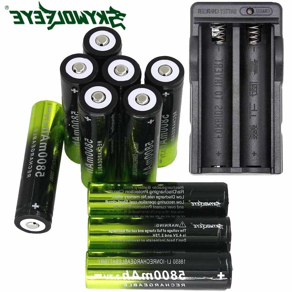 5800mah 18650 battery 3 7v li ion