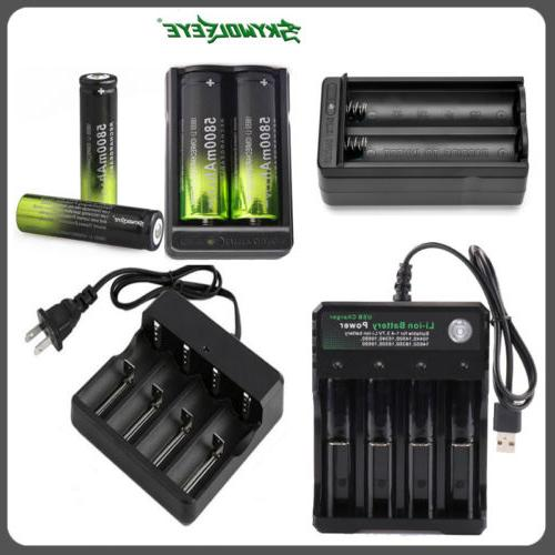 5800mah rechargeable 18650 battery 3 7v li