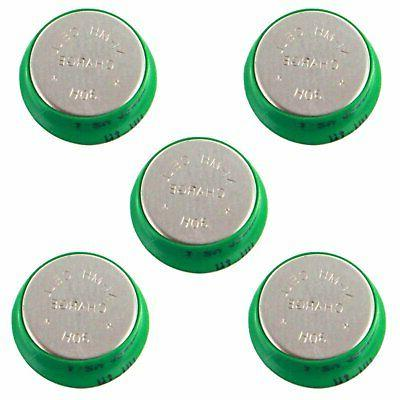 5pc 40mah rechargeable 1 2v nimh 30h
