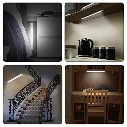 66 Cabinet Light, Closet Luxury Aluminum Night 2 Sensor Mode