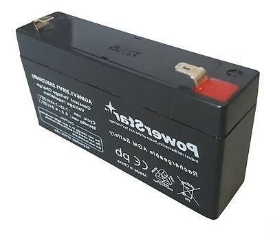6v volt 1 2ah battery for kids