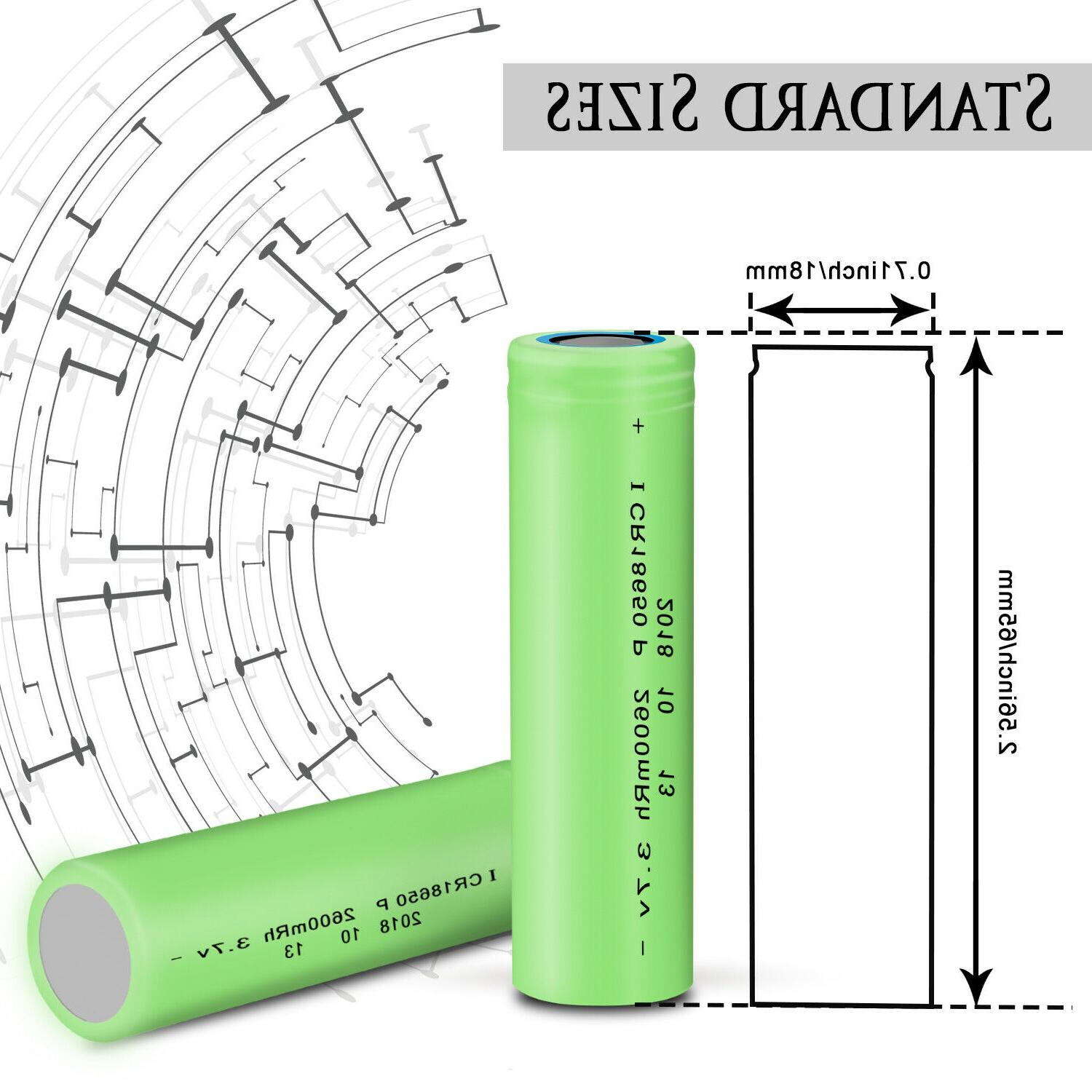 Smart Intelligent USB Battery Rechargeable With 3.7V